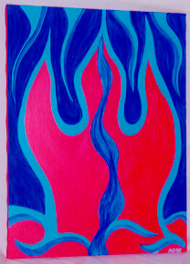 Flames by Andrea Drugay